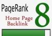 gives you Blogroll pr 8 PERMANENT links and anchor on my pageranks 8 do follow or Blogpost