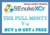 use SEnuke XCr with ✰ The Full Monty v4 ✰ template to create ✰ High Quality ✰ Do Follow ✰ Multi Tier ✰ Google Friendly ✰ Backlinks @!@#@!@