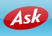 create 10 ask.com answers with your link attached for Direct and Targeted Traffic to your website