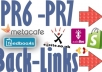 provide 25 PR 7, PR6 Backlinks on Authority Sites PageRank 6, 7 Seo Links from Famous Brands !!!!!