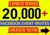 add 20000 facebook event invites on your facebook event