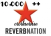 add 10,000 ++ ReverbNation video plays to your profile..!!..