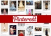 give you 100 pinterest followers (100% real) for