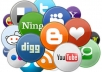 make social BOOKMARKING submissions to top 50 bookmarking sites all done manually and deliver with report within 5 days