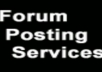 create 20 forum/blog posts from 20 different accounts