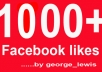 get you 1000+ Facebook likes with profile pictures To your fanpage !!!!!