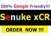 run Senuke xCR to create Safest Backlinks | SEO NukeX Loved by all which will skyrocket your ranking in search engine