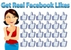 give you 81+ facebook likes for your any kind of new facebook fan-page to get famous fans likes within 3-4 days only