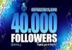 get you 40,000+ Twitter FOLLOWERS that you can split between 3 accounts or put all on one in less than 24 hours