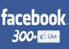 give you 300+ facebook likes no fake,no bot within 24hrs 