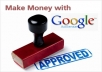give 100 Google Adsense clicks on your website (Canada,U.S,UK clicks) spread out over 5 days