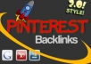 add uk,usa and canandian AMAZINGLY 250+ real and active pinterest follower within 48 from hour from real human to larger your profile link