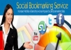 submit your website on 20++ PR8 to PR5 Social Bookmarks MANUALLY and PING  all them 