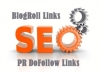 give you 2 Blogroll Links in PR2 Websites (Real Websites)