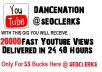deliver 20 000 views to your youtube video in 24 to 48 hours