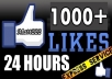 give 1000+ USA Facebook Likes from Best Quality Profiled Users to your Fan Page in less than 2 hours without admin access...!2