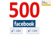 add 500 High Quality USA Facebook Likes, Fans to your fanpage in less than 24 hrs !!~!!