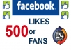 add 500+ Facebook Likes, Fans to your Fan Page or Website or Blog within 24 Hours !!~!!