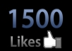 add 1,500+ and more Facebook Likes to any Fan Page, get Real Looking Facebook likes / Fans delivered safely...!!!!!!!!!!