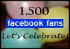 add Manually Safe 1500+ Facebook Likes to your Fanpages Safely within 24 hours