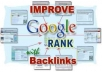 create12000 + contextual BACKLINKS in 4000 + different Backlinks wiki site to push you site with backlinks