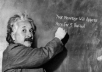 Place YouR MsG written on the board by Einstein