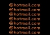 provide you 500 hotmail accounts with spam filter disabled