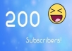 Give you 200 youtube,comments,likes,subscribers or views on your Choose