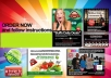 design any type of banner, header, facebook timeline photo, Google+ Cover, NEW Twitter Profile Photo