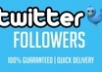 give you 45,000 Real Looking TWITTER Followers Or 25000 instagram followers and 20,000 instagram likes to your account in 24 hours