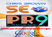 Create ★All in One ChrisBrownWheel Exclusive SEO Service- Google Rank-BACKLINKS PYRAMID, WEB 2.0, WIKI, PDF Submissions, Social Bookmarks, and more! (Dominate the competition)
