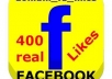 Give You 400 REAL Facebook Page Likes all world 100% REAL FANS LIKE + bonus for more Quantity ON YOUR FAN-PAGE ONLY
