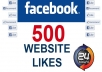add 500 Facebook Likes, to your Website or Blog, Domain, Url within 24 Hours [NOT Fan Pages] !!!!