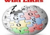 create Wiki Link Pyramid with 600 tier 1 Pr 2,8 and 10500 tier 2 with full report ..@