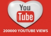 give you 200,000 youtube views and 300 likes