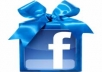 will give you 100+50+100+50+100 facebook fan likes real like