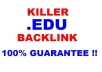 create 369 edu AMAZING backlink different domain with permanent wiki backlink for your website seo backlink