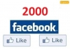 give 1500 High Quality Real, Active Facebook Likes or Fans to your facebook fan Page, all likes deliver within 2 day~~!!~~