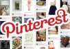   [level 2] provide 400+ Real Pinterest followers within 2 days, Promote it to 10,000 Twitter Follower+10,000 Fans facebook
