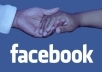 give you 1500+ facebook like on your website real & active