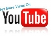 give you Guaranteed 2000 Real Human YouTube views to your Video, fast delivery 