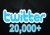 Add 20,000+ Real Looking Twitter Followers To Your Account Without any Admin access and No Unfollows