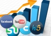 manually add your website in 100+ social bookmarking sites only