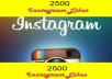 Provide 1500+ INSTAGRAM followers to your Instagram Account and Without password Fast Delivery