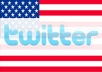 add 10,000 High Quality USA Twitter Followers