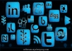 will create 30 PR7 to PR10 seo social bookmarking backlinks