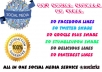 provide all in one social media Solutions go viral with social media in facebook twitter google plus stumbleupon delicious and pinterest