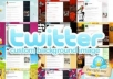 create 3 twitter backgrounds