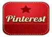 give you 200+ real Pinterest Followers,no need your password!You will get some bonus in the process.100% Safe Guaranteed
