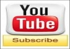 give 150+ real youtube video subscribers for your new video with in 24 hours 